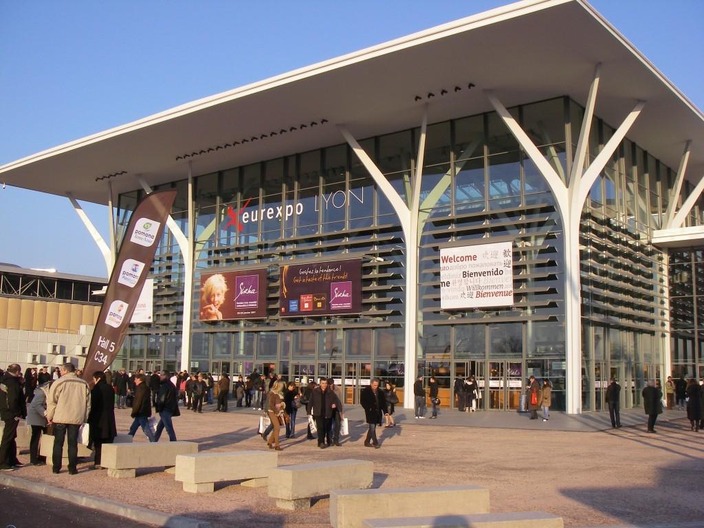 Indgang til SIHRA-messen i Euroexpo, Lyon