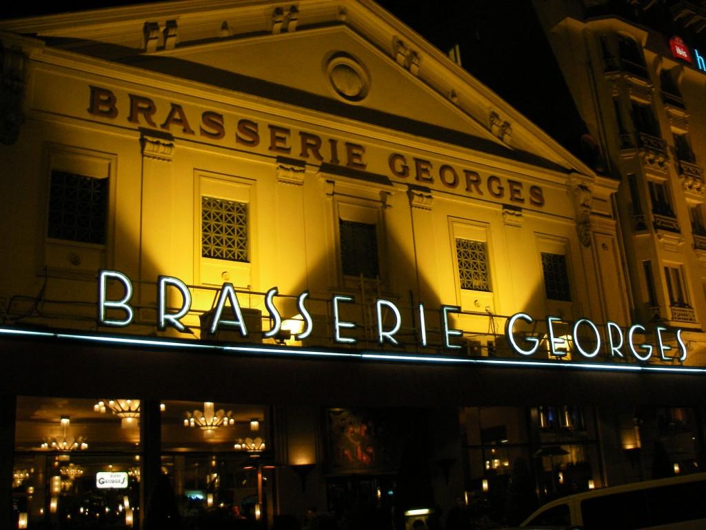Brasserie Goerge, Lyon, blandt Europas ældste restauranter