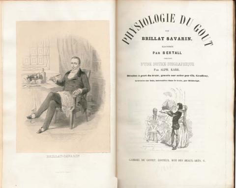 Brillat-Savarin, Smagens Fysiologi, 1825