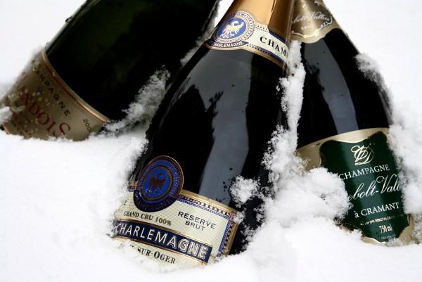champagne-nytaarsaftene-2010-champagner-i-sne