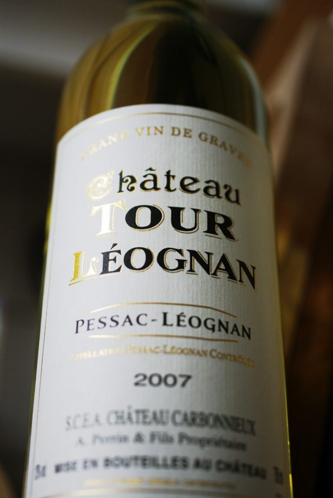 Chateau Tour Leognan -- Pessac Leognan