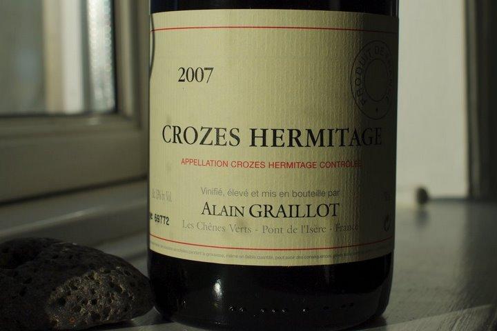 Alain Graillot 2007 -- Crozes Hermitage
