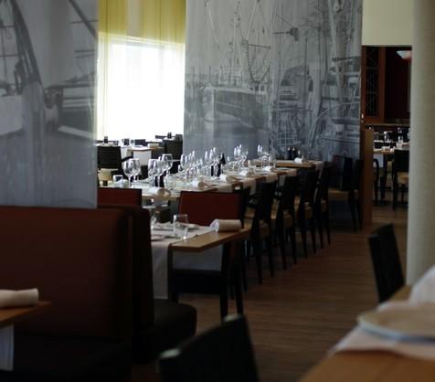 Sådan så bordet ud til pressefrokosten på The Marriott