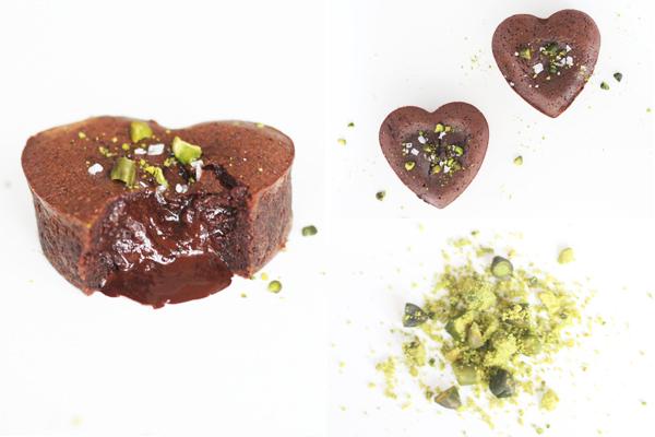 Nytårsdessert: chokolade-lavakage