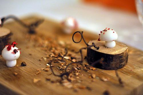Marens af ribssaft med tørrede tranebær -- Restaurant AOC