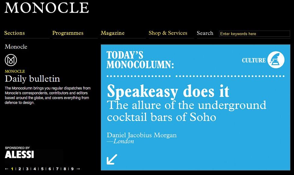 Det toneangivende engelsksprogede tidsskrift Monocle mener, at Din Baghave er blandt verdens bedste butikker