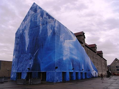 Nomas facade. Noma har til huse på Nordatlantens Brygge, København