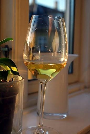 riesling i Riedel-glas