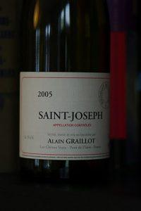 Saint-Joseph 2006, Alain Graillot
