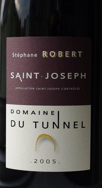 saint joseph fra domaine du tunnel 2005 closeup