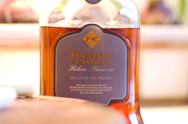 Spansk cognac til flambering