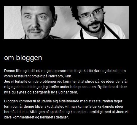 restaurant relæs-stiftere og blogskribenter