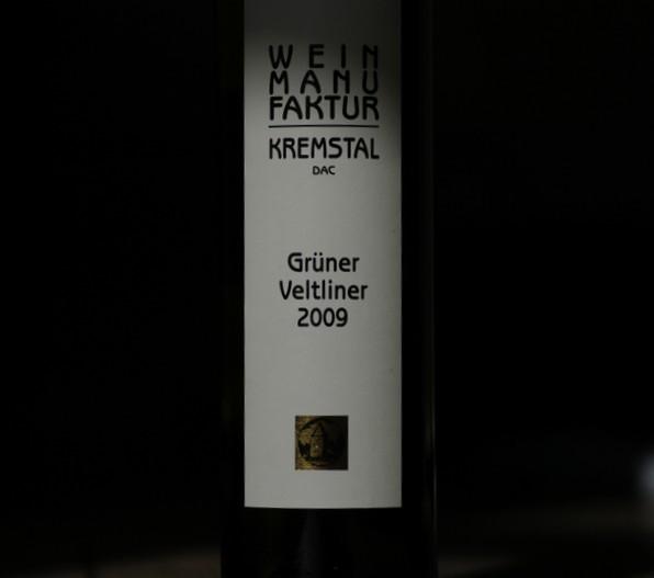 grüner veltliner fra winzer krems -- 2009