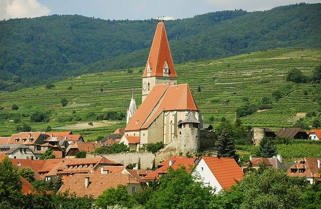 Weissenkirchen i Wachau -- Creative commons: Cha già José